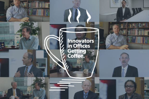 Innovators in Offices Getting Coffee